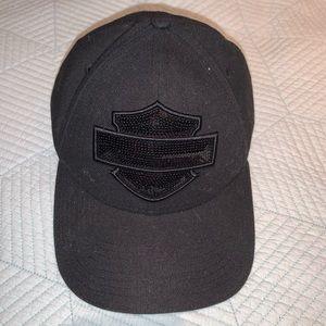 Harley Davidson Sequin Hat